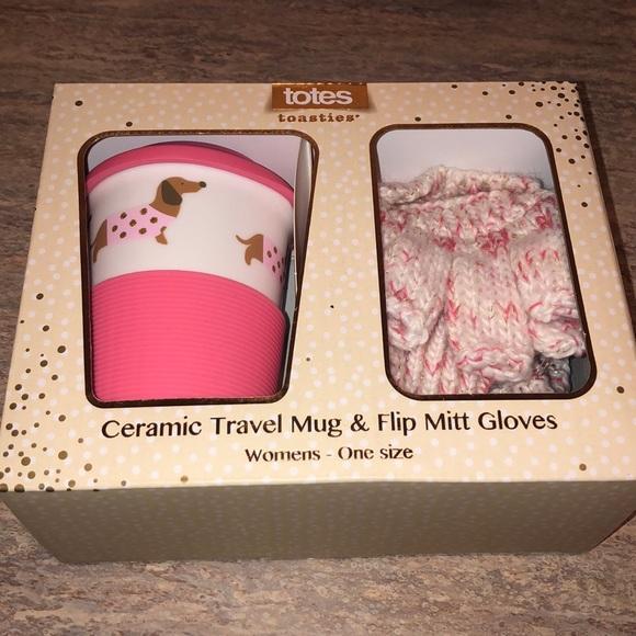 totes Other - NEW Dog Mug And Glove Set